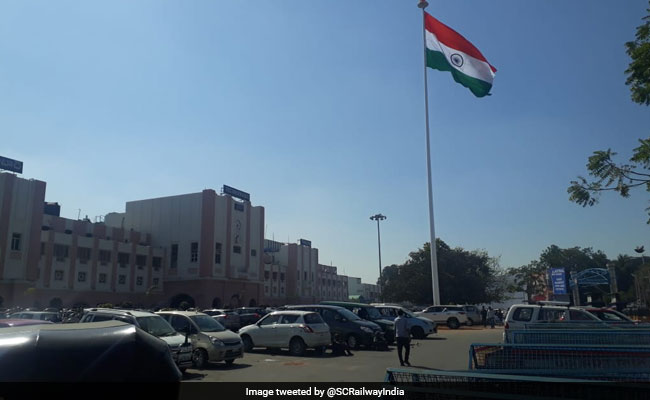 Secunderabad Railway Station Hoists Tricolour, South Central Zone's First