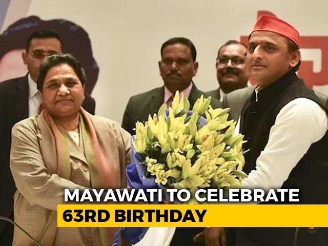 Video : Low-Key Birthday For Mayawati, New Ally Akhilesh Yadav May Visit Her