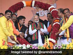 Was Congress Running <i>'Sarkar'</i> Or Michel <i>Mama's 'Durbar'</i>, Asks PM Modi