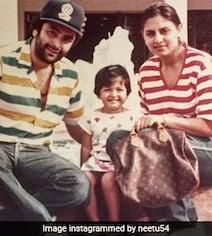 Riddhima's Post For Rishi And Neetu Kapoor On Their Wedding Anniversary