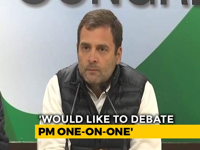 Video : Give Me 20 Minutes With PM For One-On-One Debate On Rafale: Rahul Gandhi
