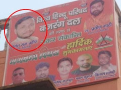 "Bulandshahr Violence Main Accused Sends ""Wishes"" In Bajrang Dal Posters"