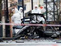 Car Bomb Explodes Outside Courtroom In Northern Ireland