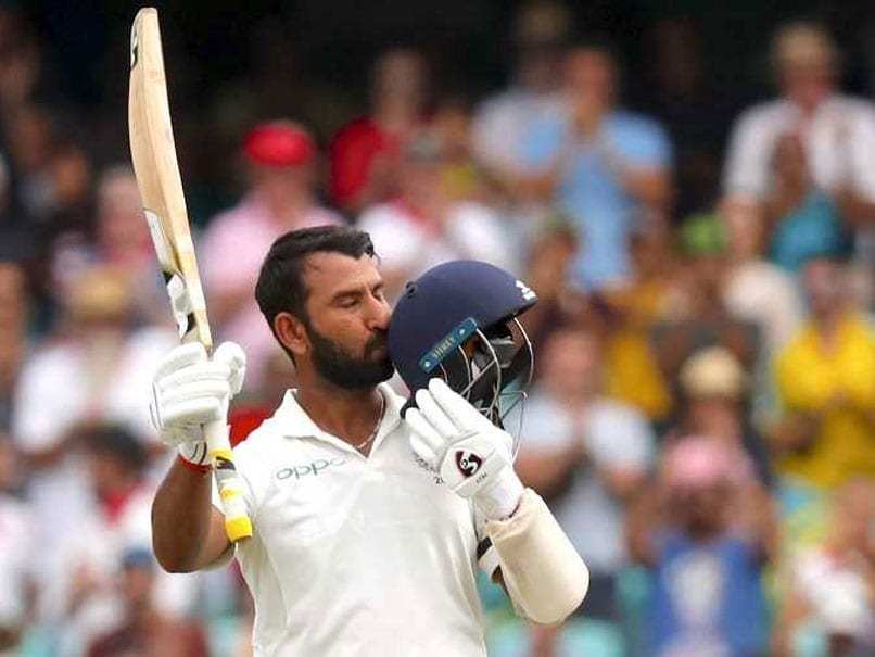 India vs Australia: Cheteshwar Pujara unbeaten 130 give India a sloid startand Cricket Fraternity praise him a lot