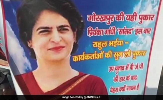 'Gorakhpur Ki Pukar...': Party Workers Ask Priyanka Gandhi To Fight Polls