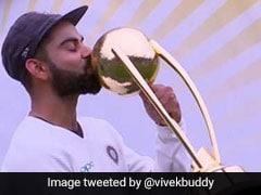 India Vs Australia: इतिहास रचकर इमोशनल हुए विराट कोहली, ऐसे किया ट्रॉफी को Kiss, देखें जश्न का VIDEO