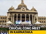 "Video: 4 ""Missing"" Karnataka Lawmakers Spoil Congress Headcount Amid Rebellion"