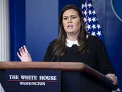 "Directed Sarah Sanders ""Not To Bother"": Donald Trump On Press Briefing"