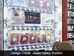 Crickets, Beetles, Tarantulas: Vending Machine In Japan Sells Bug Treats