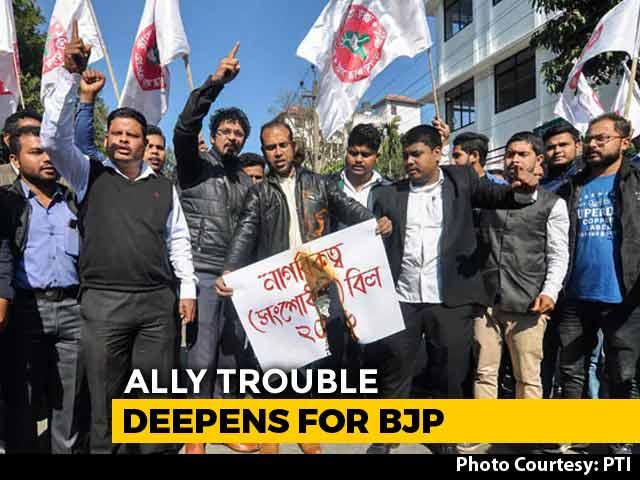 Video : BJP Loses Another Ally. Asom Gana Parishad Exits Over Citizenship Bill
