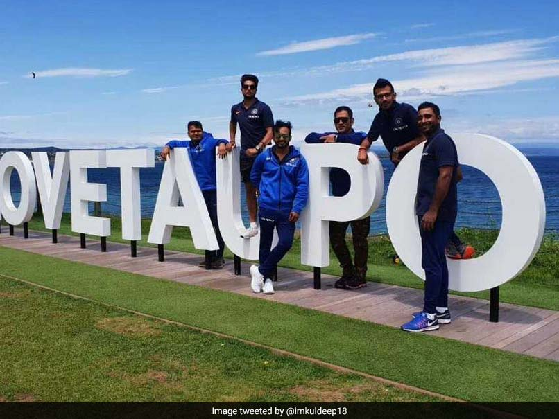 MS Dhoni, Kuldeep Yadav And Others Enjoy Scenic Route To Tauranga For 2nd ODI
