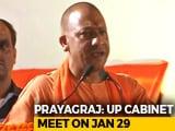 Video : Amid Kumbh Mela, Yogi Adityanath Shifts Cabinet Meet To Prayagraj