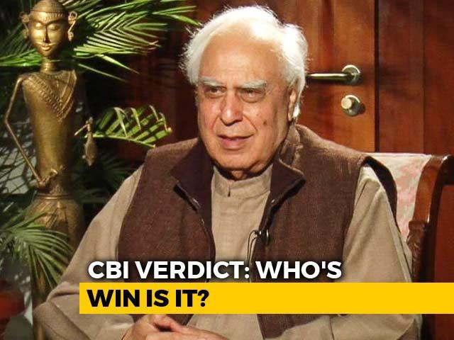 "Video : ""Interim CBI Chief Moved Against Akhilesh Yadav Despite Curbs"": Kapil Sibal"