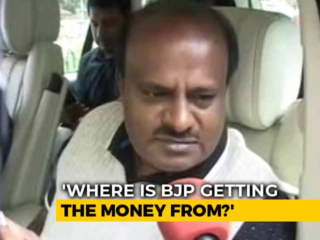"Video : ""Expected Independents To Leave"", HD Kumaraswamy Says Government Is Safe"