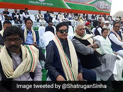 Day After Mega Opposition Rally, Shatrughan Sinha Explains Its Real Goal