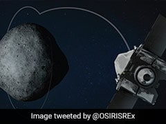 In First, NASA Spaceship Begins Orbit Of Asteroid