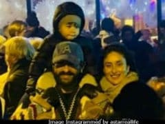 Kareena Kapoor, Saif Ali Khan Go Party Hopping With Taimur In Switzerland
