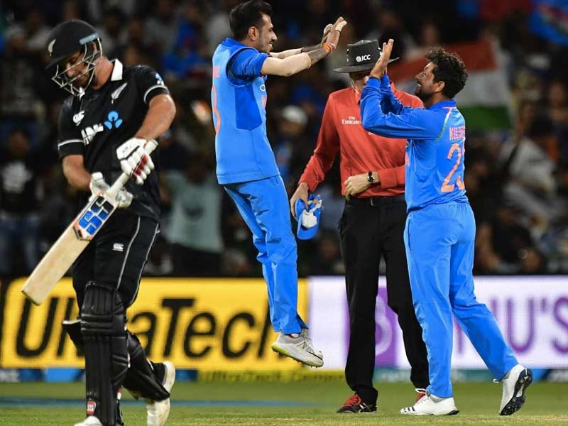2nd ODI: Rohit, Kuldeep Star As India Crush New Zealand By 90 Runs