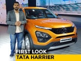 Video : Tata Harrier First Look