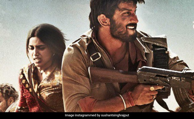 With Sonchiriya's New Poster, Sushant Singh Rajput And Bhumi Pednekar Announce Trailer Release Date
