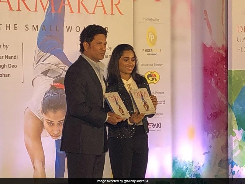 Sachin Tendulkar Launches Dipa Karmakar