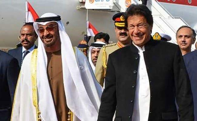 Abu Dhabi Crown Prince Meets Pak PM Imran Khan For Talks On Economic Aid