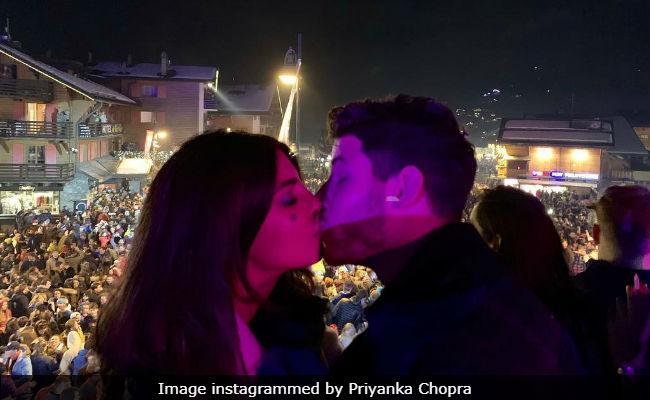 Priyanka Chopra And Nick Jonas' New Year's Celebrations: From Viral Kiss To Skiing In Switzerland