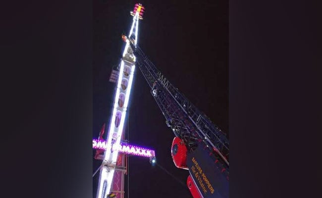 'Next Year, I'm Staying At Home': 8 Spend New Year Stuck On Funfair Ride