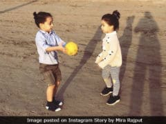 Mira Rajput Shares Pics Of Misha's Playdate With Abhishek Kapoor's Son Isana. So Cute
