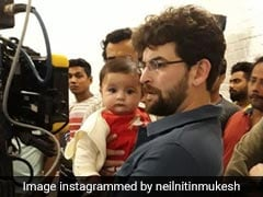 Guess Who Visited Neil Nitin Mukesh On The Sets Of <I>Bypass Road</I>?