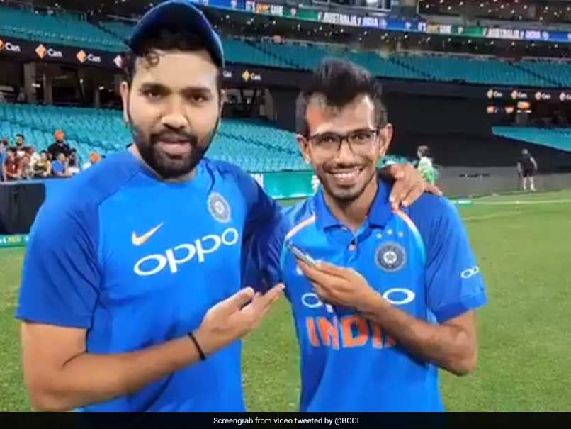 """Australia Did Well To Knock Our Top Three Batsmen"": Rohit Sharma On"