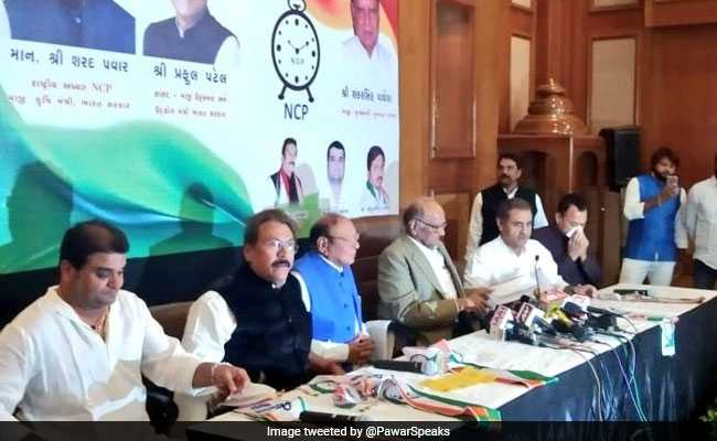 Shankarsinh Vaghela Joins Sharad Pawar's NCP, Says Can See 'UPA-3'