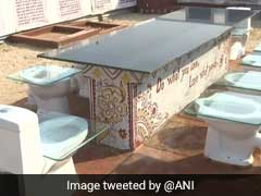 "At Kumbh Mela 2019, Unique ""Toilet Cafeteria"" A Big Draw. See Pics"