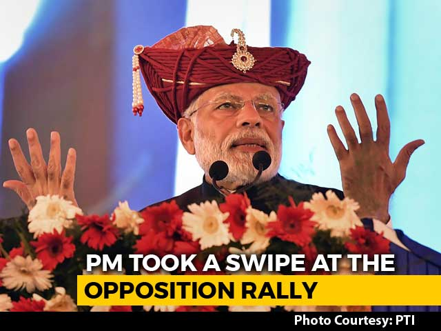 """Video : """"My Actions Against Corruption Infuriated Some"""": PM's Dig At Opposition"""