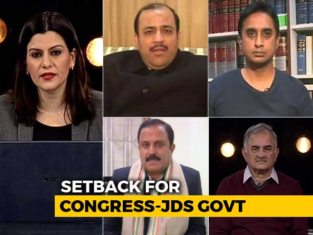 Video : Is Karnataka's Congress-JD(S) Coalition In Trouble After 2 Independents Quit?