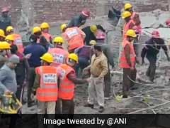 8 Trapped After Four-Storey Building Collapses In Gurugram, Rescue On