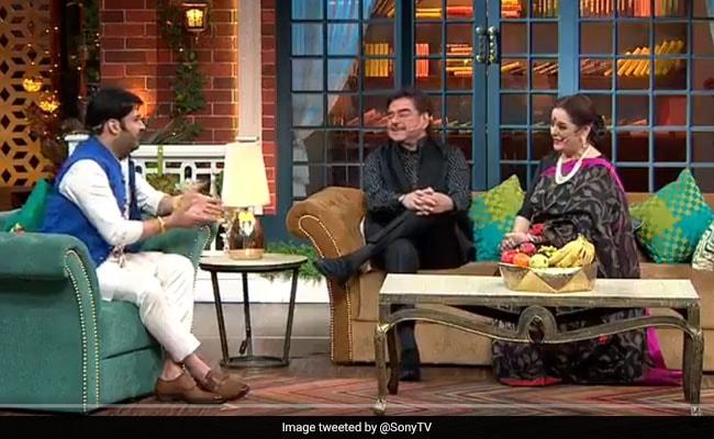 Kapil Sharma के शो में शत्रुघ्न सिन्हा ने खोले अमिताभ बच्चन के राज, देखें Video