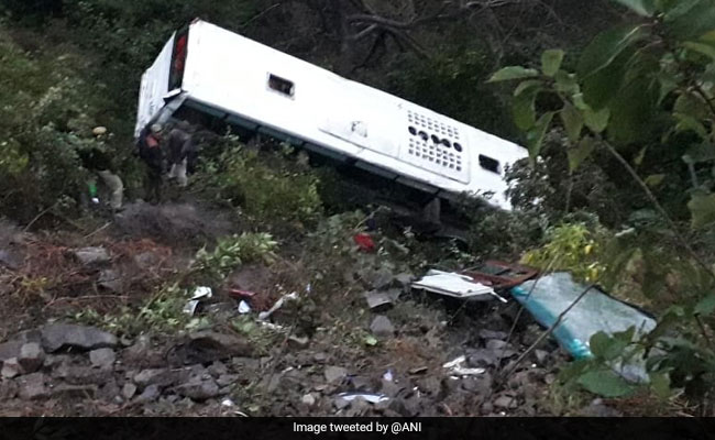 26 Injured After Tourist Bus Skids Off Road In Himachal Pradesh