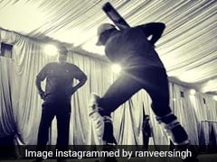 Ranveer Singh Begins Training For <i>'83</i>. Shares Pic From The Prep Session
