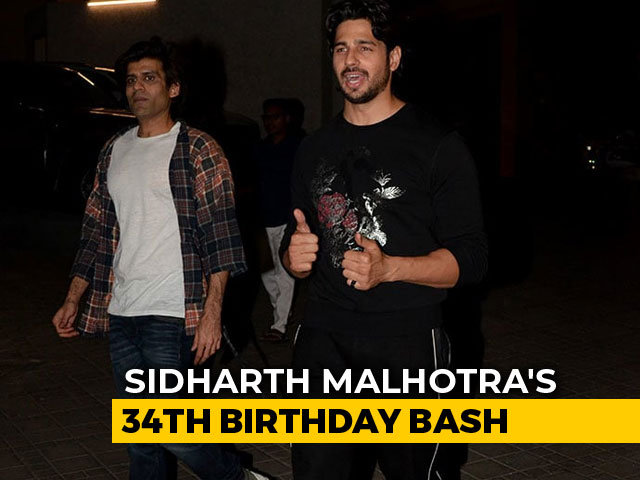 Sidharth Malhotra's Star-Studded 34th Birthday Bash