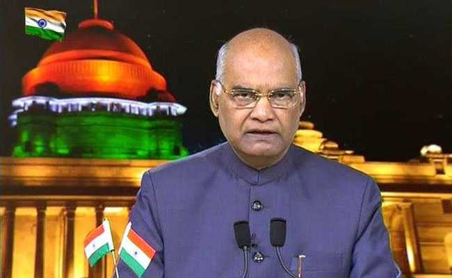 Full Text Of President Ram Nath Kovind's Address On Republic Day Eve