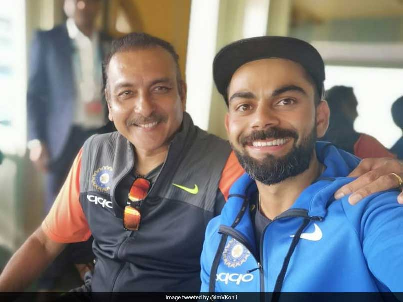 Ravi Shastri was all praise for Virat Kohli, who led India to their first ever Test series win in Australia