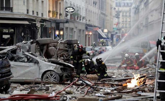 Number Of Dead In Paris Gas Blast Rises To 4 After Body Found In Rubble