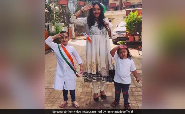 भोजपुरी एक्ट्रेस रानी चटर्जी ने Republic Day पर यूं मनाया जश्न, Video हुआ वायरल