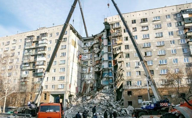 Number Of Dead Rises To 37 In Russian Apartment Block Collapse