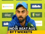 Video : Team In Sync, MS Dhoni Best Suited For No.5 Spot: Virat Kohli