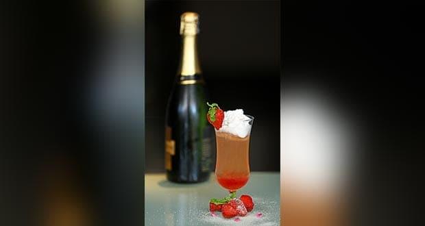 स्ट्रॉबेरी स्नो