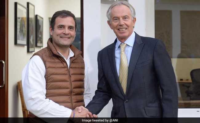 'Enjoyed Our Discussion': Rahul Gandhi Meets Ex-UK PM Tony Blair
