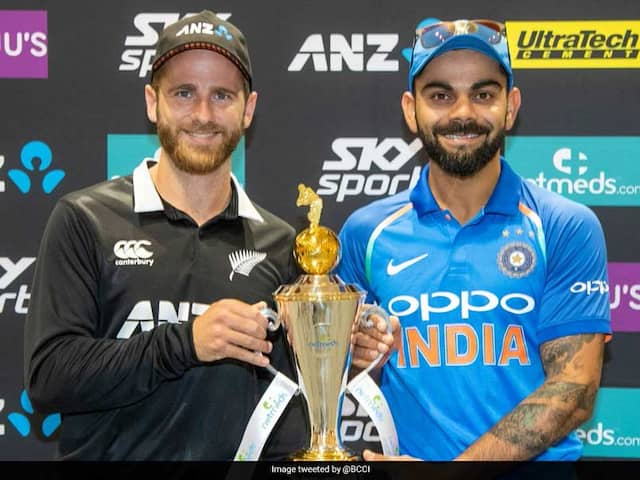 1st ODI Preview: India Start Favourites Against Tricky New Zealand