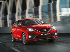 Maruti Suzuki Baleno RS Receives Price Cut Of Rs. 1 Lakh